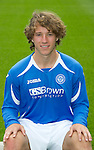 St Johnstone FC...Season 2011-12.Stevie May.Picture by Graeme Hart..Copyright Perthshire Picture Agency.Tel: 01738 623350  Mobile: 07990 594431