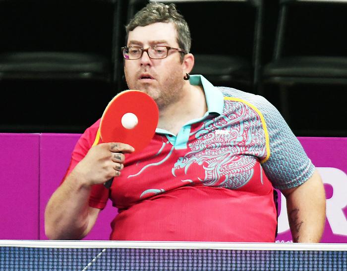 Steven Dunn, Lima 2019 - Para Table Tennis // Para tennis de table.<br /> Steven Dunn competes in Para Table Tennis // Steven Dunn participe en Para tennis de table. 22/08/2019.