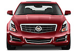 Straight front view of a 2013 Cadillac ATS sedan