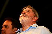 ESTAS FOTOS NAO PODEM SER VENDINDAS NO ESTADO DO PARA<br /> PA - LULA/PARÁ - POLÍTICA - O presidente Luiz Inácio Lula da Silva participa de um comício da governadora de Belém e candidata à reeleição, Ana Júlia Carepa , no bairro da Pedreira, em Belém (PA), nesta quinta-feira.<br /> <br /> <br /> <br /> FOTO TARSO SARRAF/AE/AE
