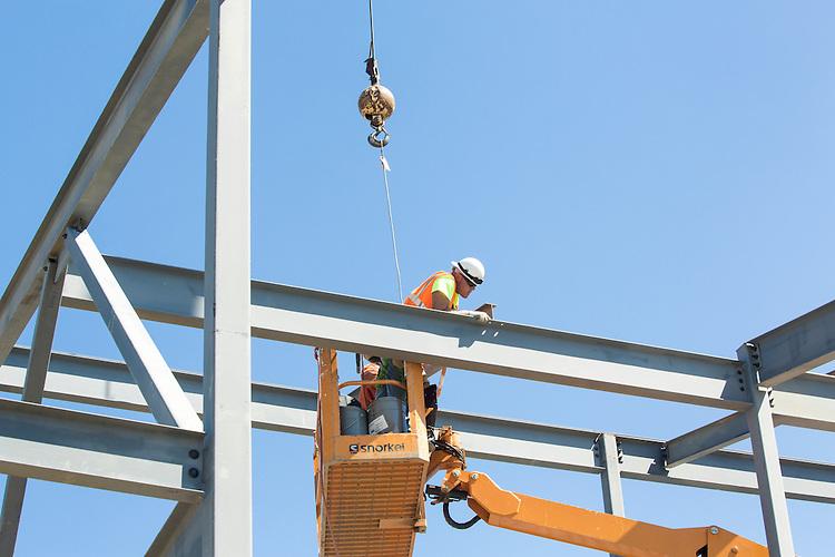 Childhood League Steel Erection Job Site Photography   Corna-Kokosing
