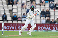 Virat Kohli, India helps the ball behind point for a single during India vs New Zealand, ICC World Test Championship Final Cricket at The Hampshire Bowl on 19th June 2021