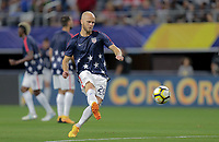 Arlington, TX - Saturday July 22, 2017: Michael Bradley during a 2017 Gold Cup Semifinal match between the men's national teams of the United States (USA) and Costa Rica (CRC) at AT&T stadium.