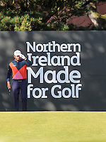 Saturday 30th May 2015; Graeme McDowell, Northern Ireland, gets ready to tee off for his third round<br /> <br /> Dubai Duty Free Irish Open Golf Championship 2015, Round 3 County Down Golf Club, Co. Down. Picture credit: John Dickson / SPORTSFILE