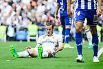 Real Madrid's Gareth Bale during La Liga match between Real Madrid and Deportivo Alaves at Stadium Santiago Bernabeu in Madrid, Spain. April 02, 2017. (ALTERPHOTOS/BorjaB.Hojas)