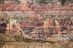 Clay rock formations, Abra Granada, Andes, northwestern Argentina