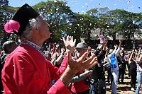 HOLAMBRA, SP, 24.08.2017 - ARQUIVO-SP - Piet Schoenmaker durante a Abertura da 36. Expoflora em 28 de agosto de 2017 na cidade de Holambra no interior de Sao Paulo. Embaixador da tradiconal festa da Expoflora, Piet Schoenmaker lutava contra um câncer e faleceu no sábado (11) no Hospital Madre Theodora em Campinas.