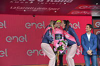 20th May 2018, Giro D italia; stage 15 Tolmezzo to Sappada, Mitchelton - Scott; Yates, Simon; Sappada;