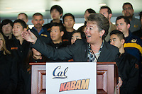 BERKELEY, CA - The California Golden Bears announced a partnership with San Francisco based mobile gaming company Kabam for naming rights to the field at Memorial Stadium on the UC Berkeley campus.