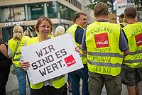2017/08/18 Berlin | Wirtschaft | ver.di | Einzelhandel | Streik