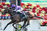 10 December 2017, Hong Kong - Ryan Moore on the Aidan O'Brien trained HIGHLAND REEL (1) wins Race 4, The Longines Hong Kong Vase at Sha Tin Racecourse Hong Kong. Photo Sydney Low