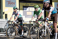 Green Jersey Sam Bennett (IRE/Deceuninck-Quick Step) rolling in at the finish in the last of 3 groups & losing the Green to Peter Sagan<br /> <br /> Stage 7 from Millau to Lavaur (168km)<br /> <br /> 107th Tour de France 2020 (2.UWT)<br /> (the 'postponed edition' held in september)<br /> <br /> ©kramon