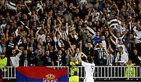 Fudbal, Champions league,Group H season 2010/2011.Partizan Vs. Arsenal.Cleverson Cordova Cleo, celebrate.Beograd, 29.09.2010..foto: Srdjan Stevanovic/Starsportphoto ©
