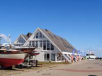 Duty Free EDF im Südhafen, Unterland, Insel Helgoland, Schleswig-Holstein, Deutschland, Europa<br /> Tax free EDF at south port, Helgoland island, district Pinneberg, Schleswig-Holstein, Germany, Europe