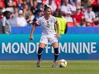 PARIS,  - JUNE 16: Ali Krieger #11 looks to pass during a game between Chile and USWNT at Parc des Princes on June 16, 2019 in Paris, France.
