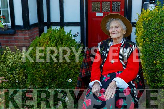 Hannah O'Shea Killarney who celebrated her 106th birthday on Sunday