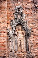 Cambodia, Bakong, Ninth Century.  Guardian of Shiva Shrine.