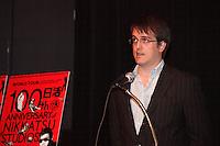 Montreal (Qc) CANADA - June 5, 2012 -  The Montreal Festival du Nouveau Cinema<br /> And the Fantasia International Film Festival Press conference,<br /> <br /> Nicolas Archambault – Fantasia Programmer