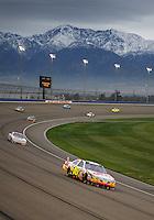 Feb 22, 2009; Fontana, CA, USA; NASCAR Sprint Cup Series driver Greg Biffle during the Auto Club 500 at Auto Club Speedway. Mandatory Credit: Mark J. Rebilas-