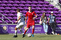 Orlando, Florida - Wednesday January 17, 2018: Nate Shultz. Match Day 3 of the 2018 adidas MLS Player Combine was held Orlando City Stadium.