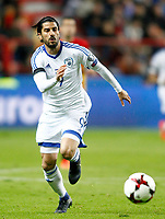 Israel's Lior Refaelov during FIFA World Cup 2018 Qualifying Round match. March 24,2017.(ALTERPHOTOS/Acero) /NortePhoto.com