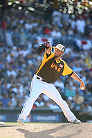 Nate Smith of the USA Team pitches against the World Team during The Futures Game at Petco Park on July 10, 2016 in San Diego, California. World Team defeated USA Team, 11-3. (Larry Goren/Four Seam Images)