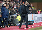 Hearts v St Johnstone…03.02.18…  Tynecastle…  SPFL<br />Craig Levein<br />Picture by Graeme Hart. <br />Copyright Perthshire Picture Agency<br />Tel: 01738 623350  Mobile: 07990 594431