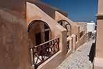 Unique Archways in Oia.