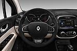 Car pictures of steering wheel view of a 2017 Renault Capture Initiale-Paris 5 Door SUV Steering Wheel
