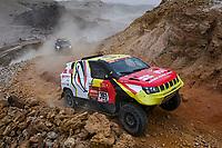 7th January 2021; Riyadh to Buraydah, Saudi Arabia; Dakar Rally, stage 5;  #361 Lu Binglong (chn), Ma Wenke (chn), Baic, Baic ORV, Auto, action during the 5th stage of the Dakar 2021 between Riyadh and Al Qaisumah, in Saudi Arabia on January 7, 2021