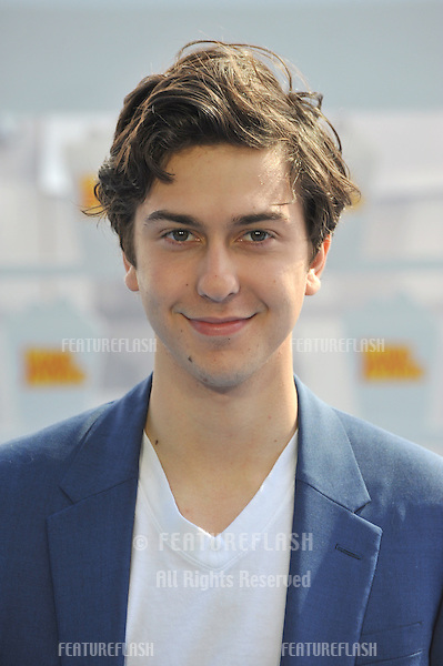 Nat Wolff at the 2015 MTV Movie Awards at the Nokia Theatre LA Live.<br /> April 12, 2015  Los Angeles, CA<br /> Picture: Paul Smith / Featureflash