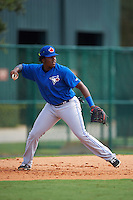 Toronto Blue Jays Vladimir Guerrero (27) during practice before an instructional league game against the Atlanta Braves on September 30, 2015 at the ESPN Wide World of Sports Complex in Orlando, Florida.  (Mike Janes/Four Seam Images)