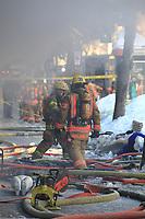 Incendie sur la Plaze St-Hubert, le 6 mars 2015<br /> <br /> PHOTO : Agence Québec Presse