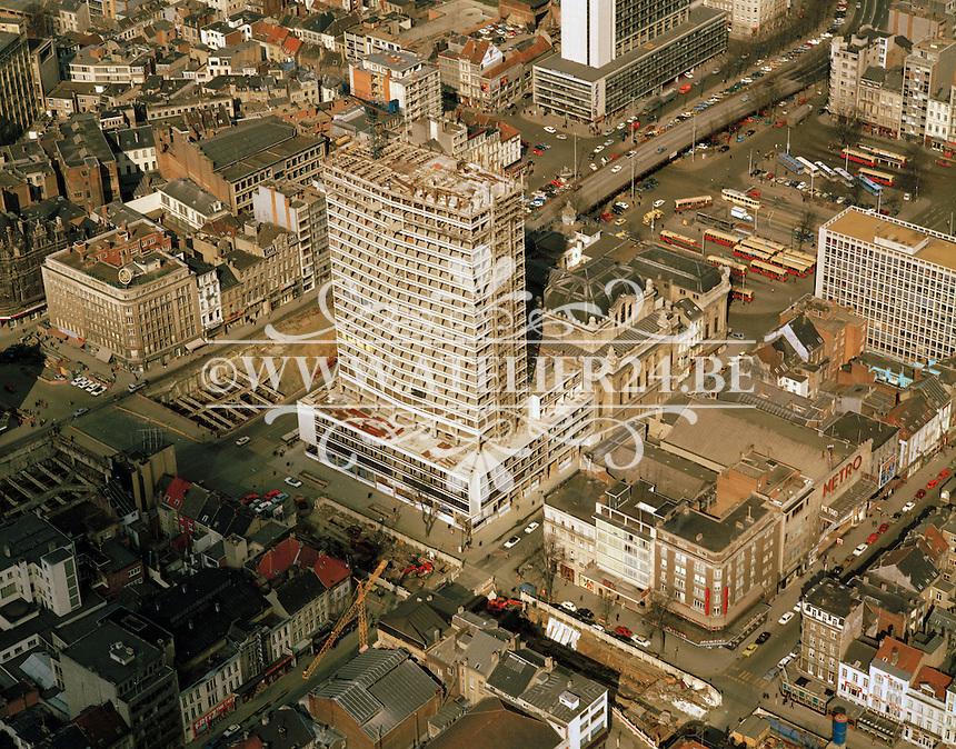 Maart 1973. De Keyserlei in Antwerpen.