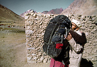 Mareile welcomed back at a village in Chapursan Valley, North Pakistan.