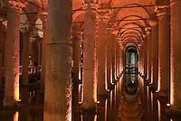 Yerebatan-Zisterne in Istanbul, Türkei , UNESCO-Weltkulturerbe