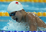 Drew Christensen of New Westminister, B.C. swims in the men's 200 individual medley SM8 at the Paralympic Games in Beijing, Thursday, Sept., 11, 2008.  Photo by Mike Ridewood/CPC