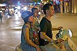 Family On Motorbike
