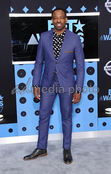 25 June 2017 - Los Angeles, California - Chike Okonkwo. 2017 BET Awards held at the Microsoft Square in Los Angeles. Photo Credit: Birdie Thompson/AdMedia
