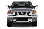 Straight front view of a 2013 Nissan Titan SL Crew Cab 2wd