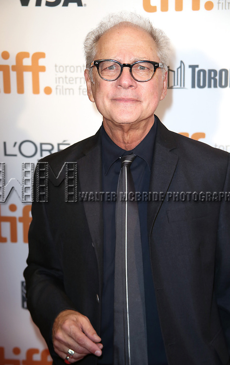 Barry Levinson attends TIFF's 3rd Annual Gala Event 'In Conversation With Al Pacino' at the Tiff Lightbox on September 3, 2014 in Toronto, Ontario, Canada