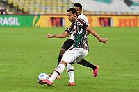 2nd June 2021; Maracana Stadium, Rio de Janeiro, Brazil; Copa do Brazil, Fluminense versus Red Bull Bragantino; Fred of Fluminense takes a shot at goal