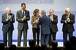 """The kings of Spain make delivery of accreditation to the new ambassadors fees """"Marca España"""" in his 6th edition to Josep Pique at BBVA City in Madrid, November 12, 2015.<br /> (ALTERPHOTOS/BorjaB.Hojas)"""