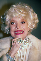 Carol Channing 1990<br /> Photo By Adam Scull/PHOTOlink.net