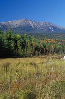 Baxter Peak, Mount Katahdin, in Baxter State Park, Maine