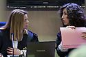 (L-R) Palma 1st secction High Court Judges Samantha Romero and Eleonor Moya