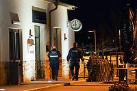 Ordnungspolizei unterwegs in Mörfelden-Walldorf - 03.04.2021 Mörfelden-Walldorf: Kontrolle Ausgangssperre durch das Ordnungsamt