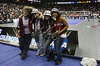 Omaha, NE - DECEMBER 20:  Band of the Stanford Cardinal during Stanford's 20-25, 24-26, 23-25 loss against the Penn State Nittany Lions in the 2008 NCAA Division I Women's Volleyball Final Four Championship match on December 20, 2008 at the Qwest Center in Omaha, Nebraska.