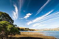 Robinsons Bay near Akaroa - Banks Peninsula, Christchurch, New Zealand
