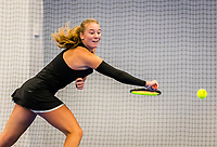 Amstelveen, Netherlands, 16  December, 2020, National Tennis Center, NTC, NK Indoor, National  Indoor Tennis Championships,  Anouk Koevermans  (NED) <br /> Photo: Henk Koster/tennisimages.com